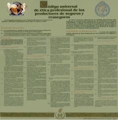 QUIRINO BROKERS - Código universal de ética profesional de los productores de seguros y reaseguros.