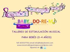 Baby doremi, talleres de estimulaci�n musical