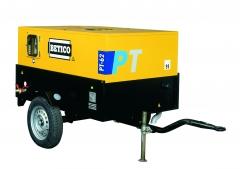Compresores port�tiles para obras de gasolina y diesel