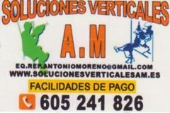 Logo de soluciones verticales a.m