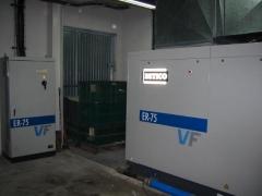 Compresores ahorro energ�tico con variador de frecuencia vf