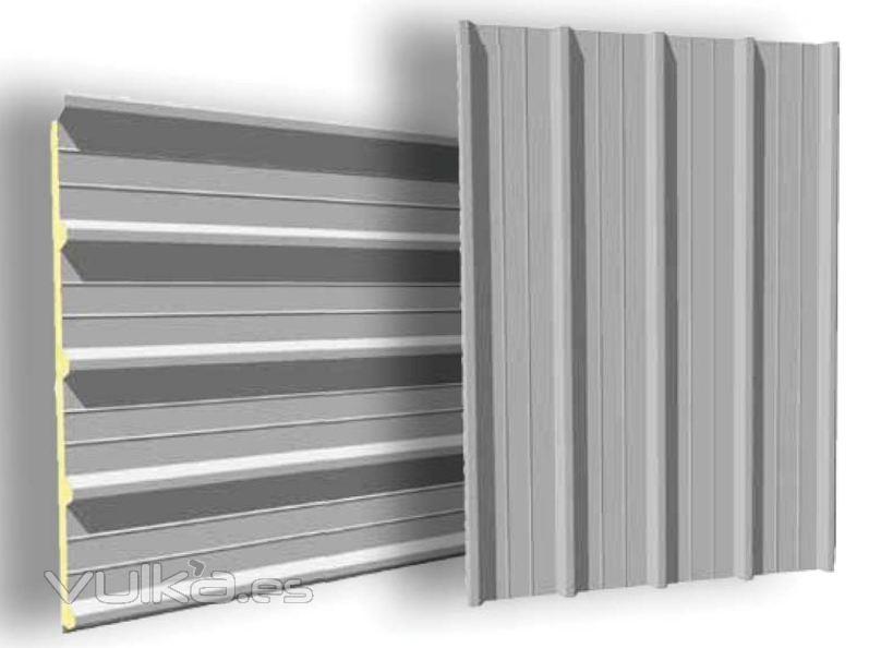 Foto panel sandwich aluminio for Panel sandwich aluminio blanco