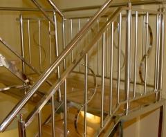 Escalera acabado pulido