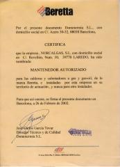 Mantenedor autorizado beretta. laredo (cantabria)