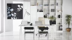 Muebles de despacho moderno y muy luminoso