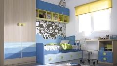 Dormitorio juvenil con mucha luz del catalogo whynot 12