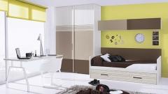 Habitacion juvenil con colores tierra del catalogo de dormitorios juveniles whynot 12