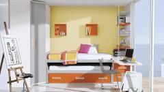 Habitacion juvenil con colores claros del catalogo whynot 12