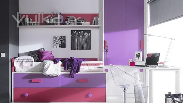 Foto composicion de muebles juveniles del catalogo whynot 12 for Catalogo de muebles juveniles