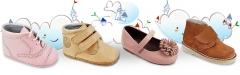 Zapatos de piel para los mas peque�os, amplio cat�logo de temporada con merceditas, botas inglesitos