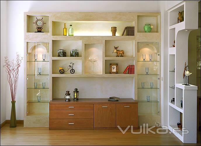 Foto muebles ibicencos - Modelos de estores para salon ...