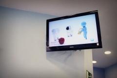 Tv con demos informativos / tv with informative demos