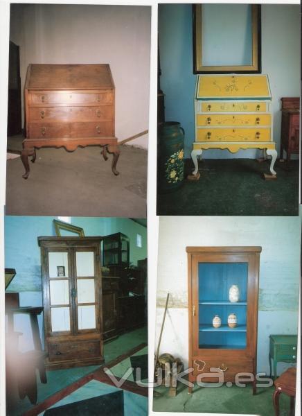 restauracion de muebles olga gonzalez lacalle