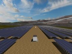 Dise�o 3d huerto fotovoltaico