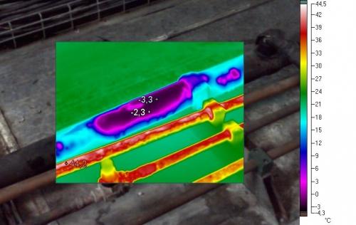 Auditorías energéticas - Análisis termográfico