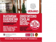 Tolosako erdialdean gaude! estamos en el centro de tolosa!