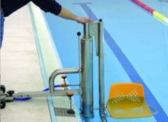 Aqua: elevador hidráulico para acceder a piscinas públicas y privadas