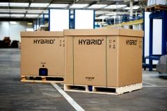 Hybrid3, contenedor de cart�n ondulado para el transporte de l�quidos