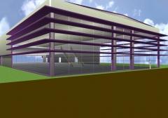 Proyecto edificio comercial en la rioja