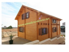 Casa de madera modelo jaen 108 m2