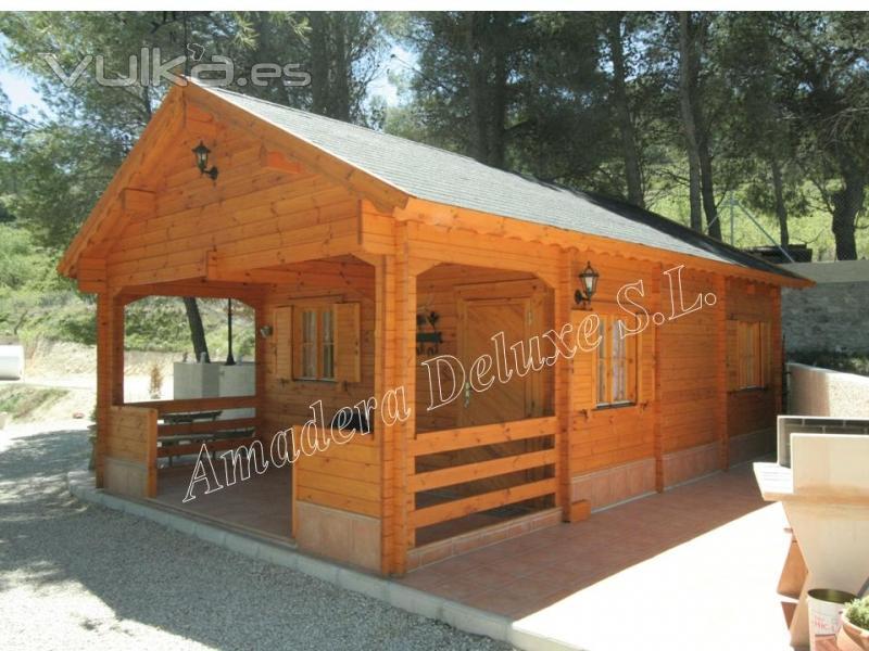 Foto casa de madera modelo con buhardilla - Casas con buhardilla ...