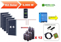 Kit Solar Fotovoltaico con Baterias