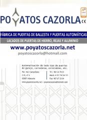 Perfil poyatos cazorla.  www.poyatoscazorla.net