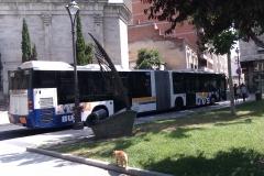 Interdomicilio en el bus linea 1