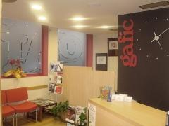 Recepción de las oficinas de la asesoría gafic slp