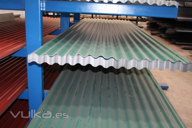 Foto chapas para tejados excomer 943 627355 gipuzkoa - Cubiertas para tejados ...