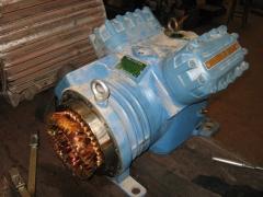 Compresores de frio semihermeticos de piston dwm copeland.