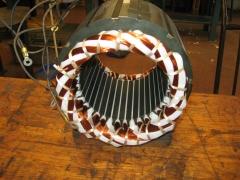 Bobinado de compresor de frio