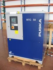 Montaje y mantenimiento de compresores de tornillo puska.