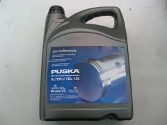 Aceite puska para compresores de piston.