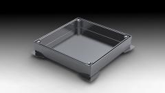 Tapa de arqueta estanca lisa o rellenable sencilla