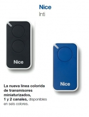 Nuevos mandos nice inti. www.poyatoscazorla.net