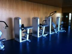 Sala de gimnasio,negocio y salud