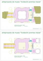 Proyecto museo de las artes - plantas