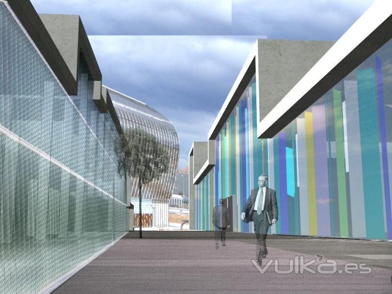 Block arquitectos slp for Oficinas vodafone barcelona