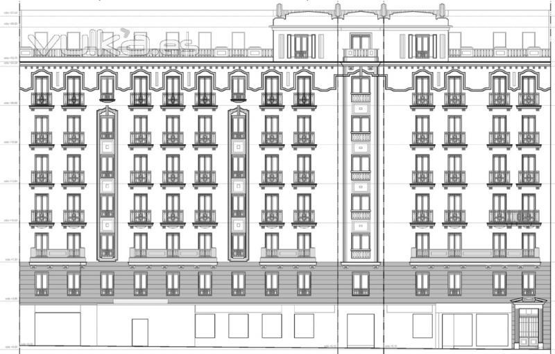 Foto ejemplo de plano de fachada hist rica - Ejemplo certificado energetico piso ...