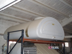Dep�sito 1.350 L. Para accesos de 70 Cm. e instalaci�n en altillo. (2100 X 1305  X 690 mm. de alto)