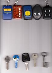 Duplicado mandos parking