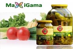 Los mejores pepinillos especiados agridulces. tienda online: www.maxigama.com