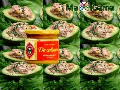 Rellenos de salmon de maxigama con aguacate sorprender� tus invitados. tienda online: www.maxigama.c