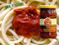 Quieres convertir tu plato de spagetti a un plato gourmet? prueba nuestra salsa de gourmet de maxiga
