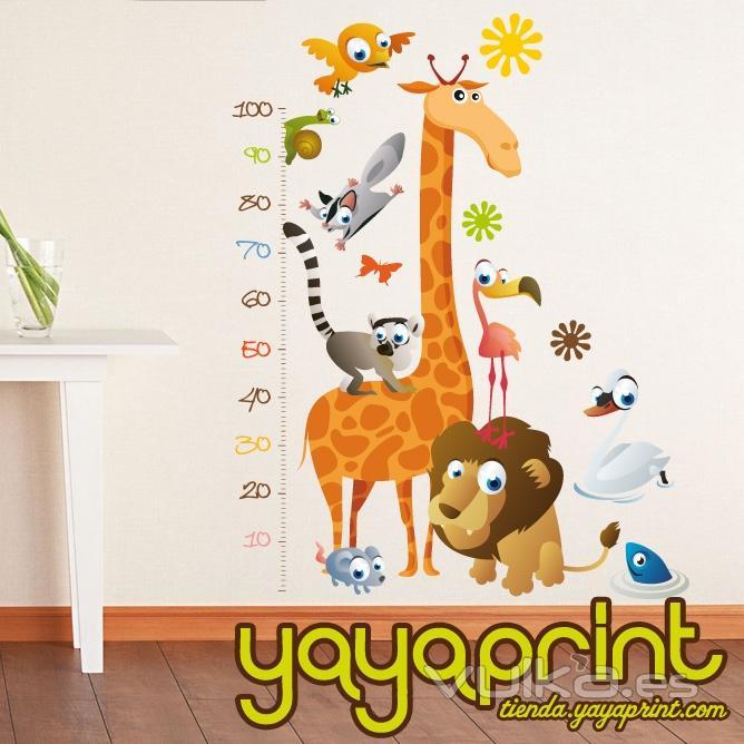 Foto vinilo decorativo para pared vinilos infantiles y - Pegatinas para decorar habitaciones infantiles ...