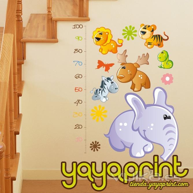 Foto vinilo decorativo para pared vinilos infantiles y for Pegatinas decoracion bebe
