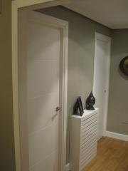 Puertas de paso lacadas blanco