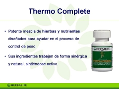 Productos herbalife thermo complete