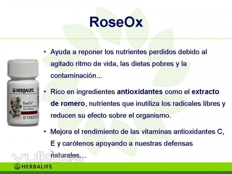 Foto Productos Herbalife Roseox